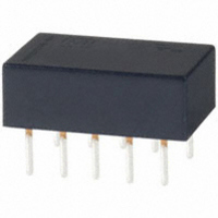 RELAY STD DPDT 1A 5VDC PC MNT